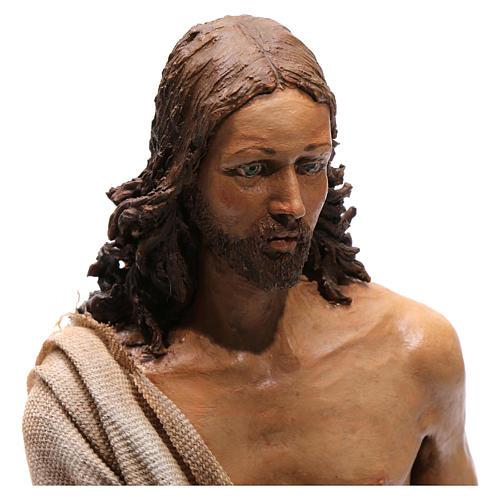 Battesimo di Gesù Scena Angela Tripi 30 cm 2
