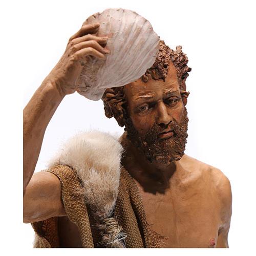 Battesimo di Gesù Scena Angela Tripi 30 cm 3
