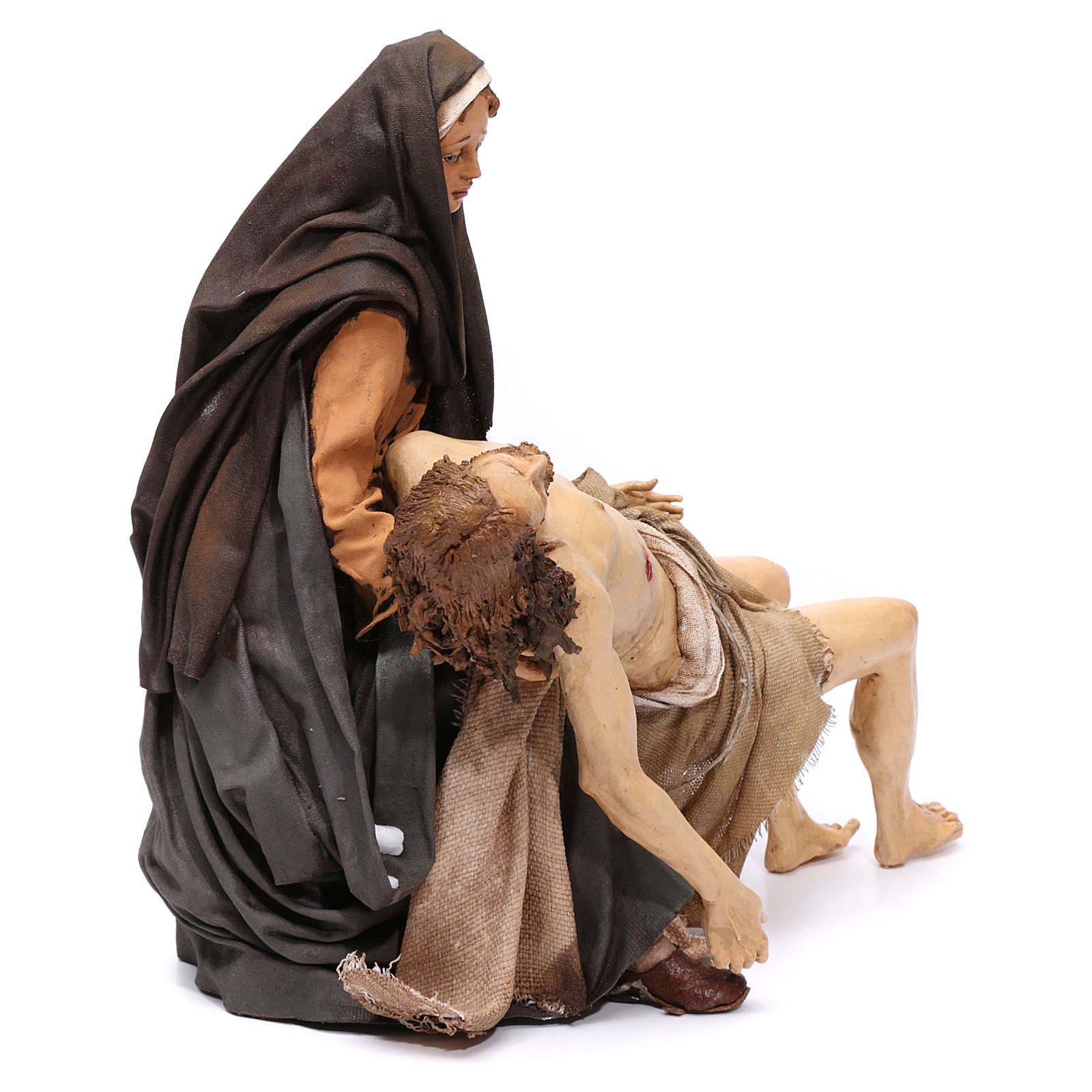 La Pietà scena della Deposizione Angela Tripi 30 cm 4