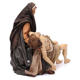 La Pietà scena della Deposizione Angela Tripi 30 cm s4