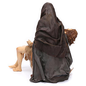 La Pietà scena della Deposizione Angela Tripi 30 cm s5