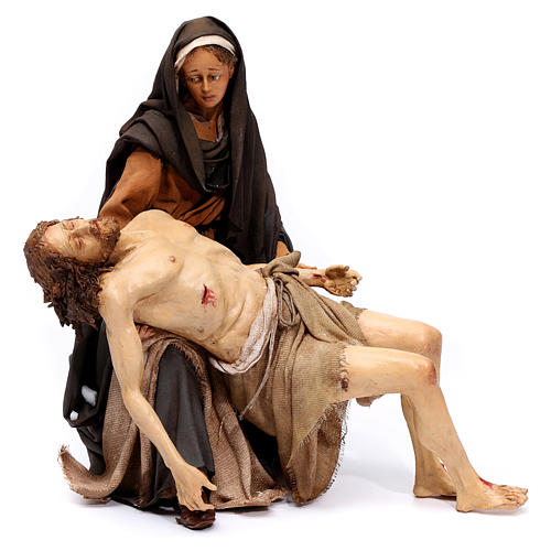 La Pietà scena della Deposizione Angela Tripi 30 cm 1