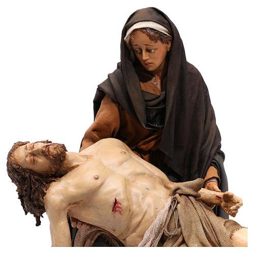 La Pietà scena della Deposizione Angela Tripi 30 cm 2