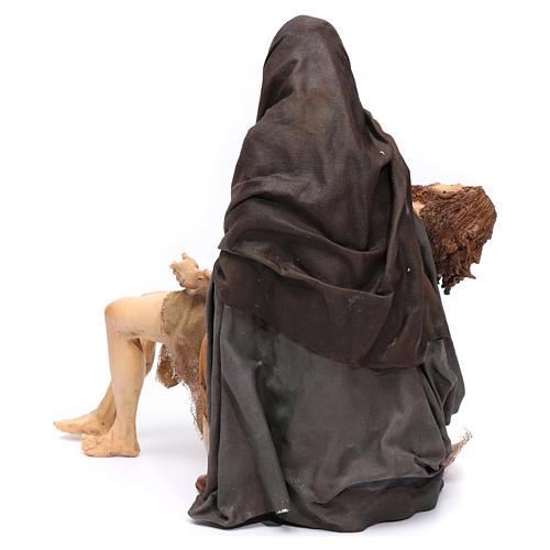 La Pietà scena della Deposizione Angela Tripi 30 cm 5