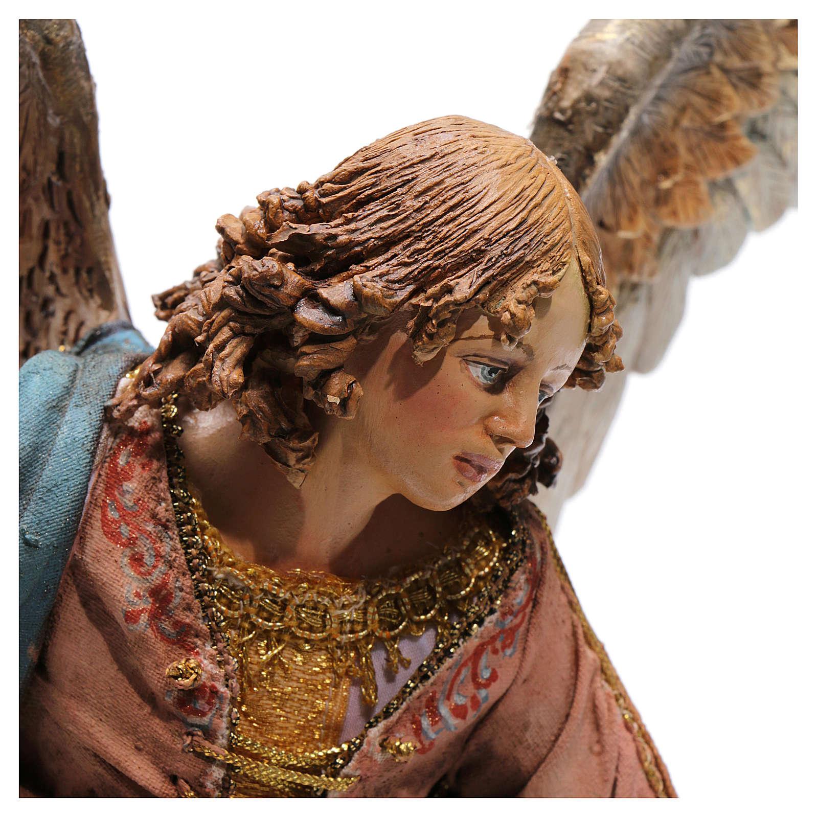 Scena dell' Annunciazione 30 cm Presepe Tripi 4