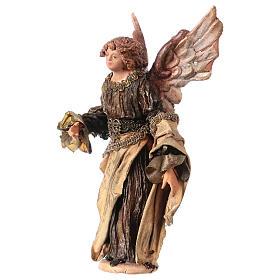 Ange Gloire debout annonce aux bergers 13 cm Angela Tripi s3