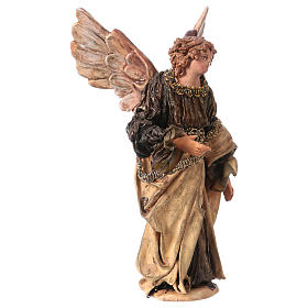Ange Gloire debout annonce aux bergers 13 cm Angela Tripi s4