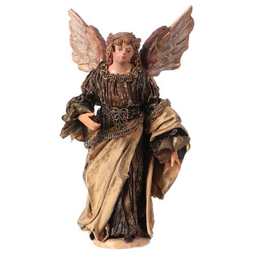 Ange Gloire debout annonce aux bergers 13 cm Angela Tripi 1