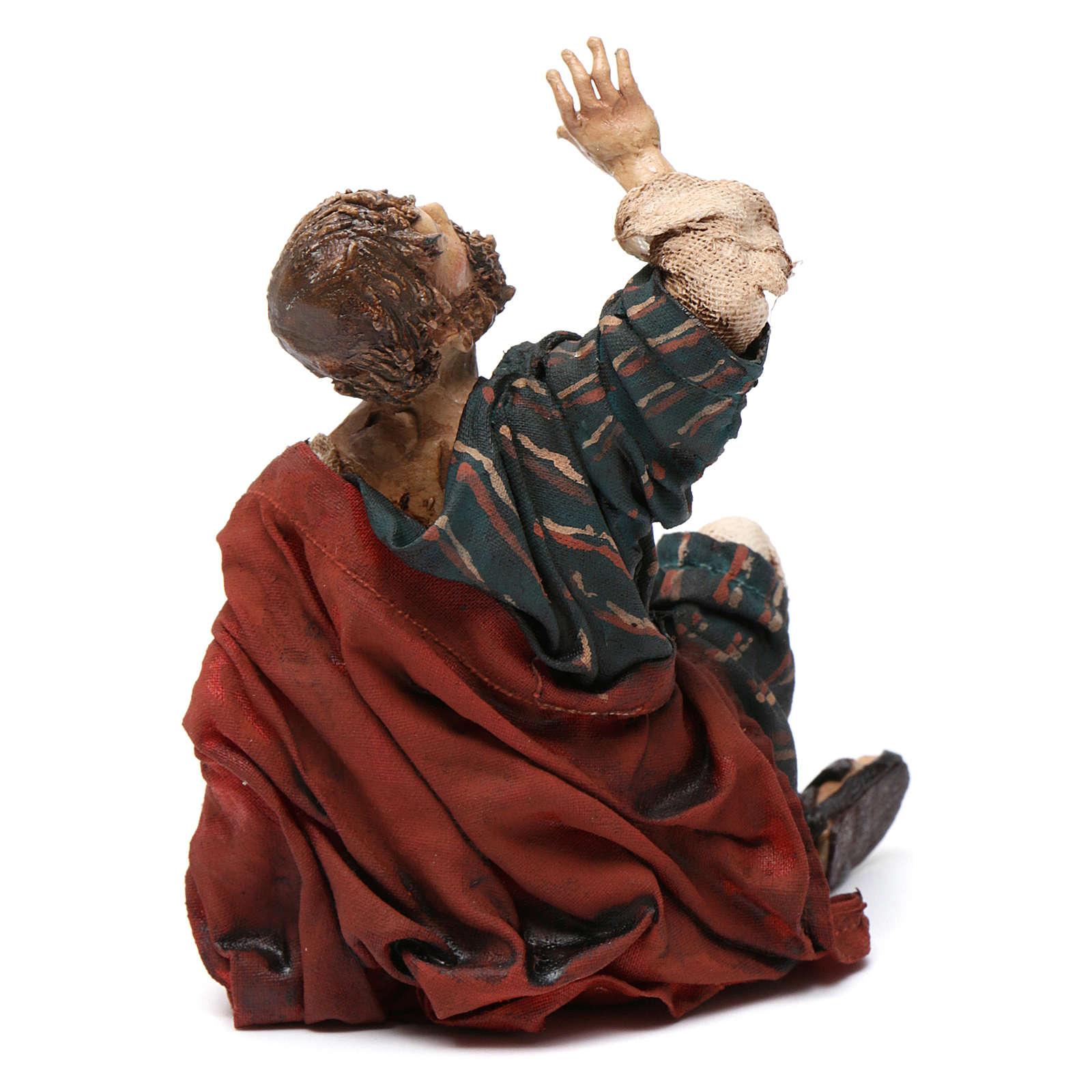Pastore dell'annuncio 13 cm Angela Tripi 4