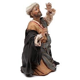 Pastore meravigliato 13 cm presepe Tripi s4