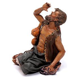 Pastore meravigliato presepe 18 cm Angela Tripi s3