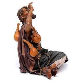 Pastore meravigliato presepe 18 cm Angela Tripi s4