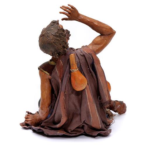 Pastore meravigliato presepe 18 cm Angela Tripi 5