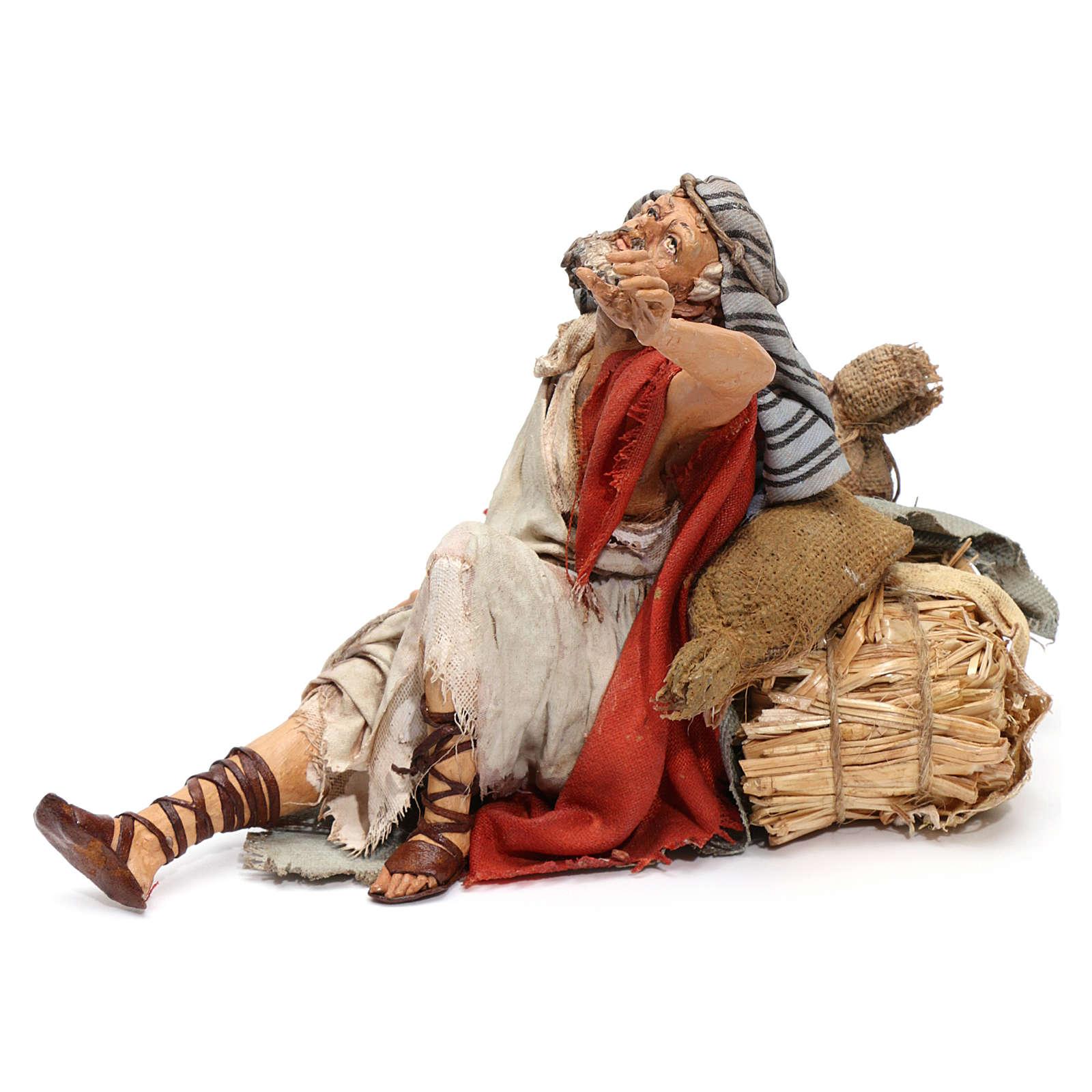 Il meravigliato presepe Angela Tripi 18 cm 4