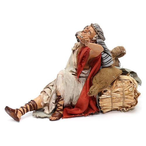 Il meravigliato presepe Angela Tripi 18 cm 3