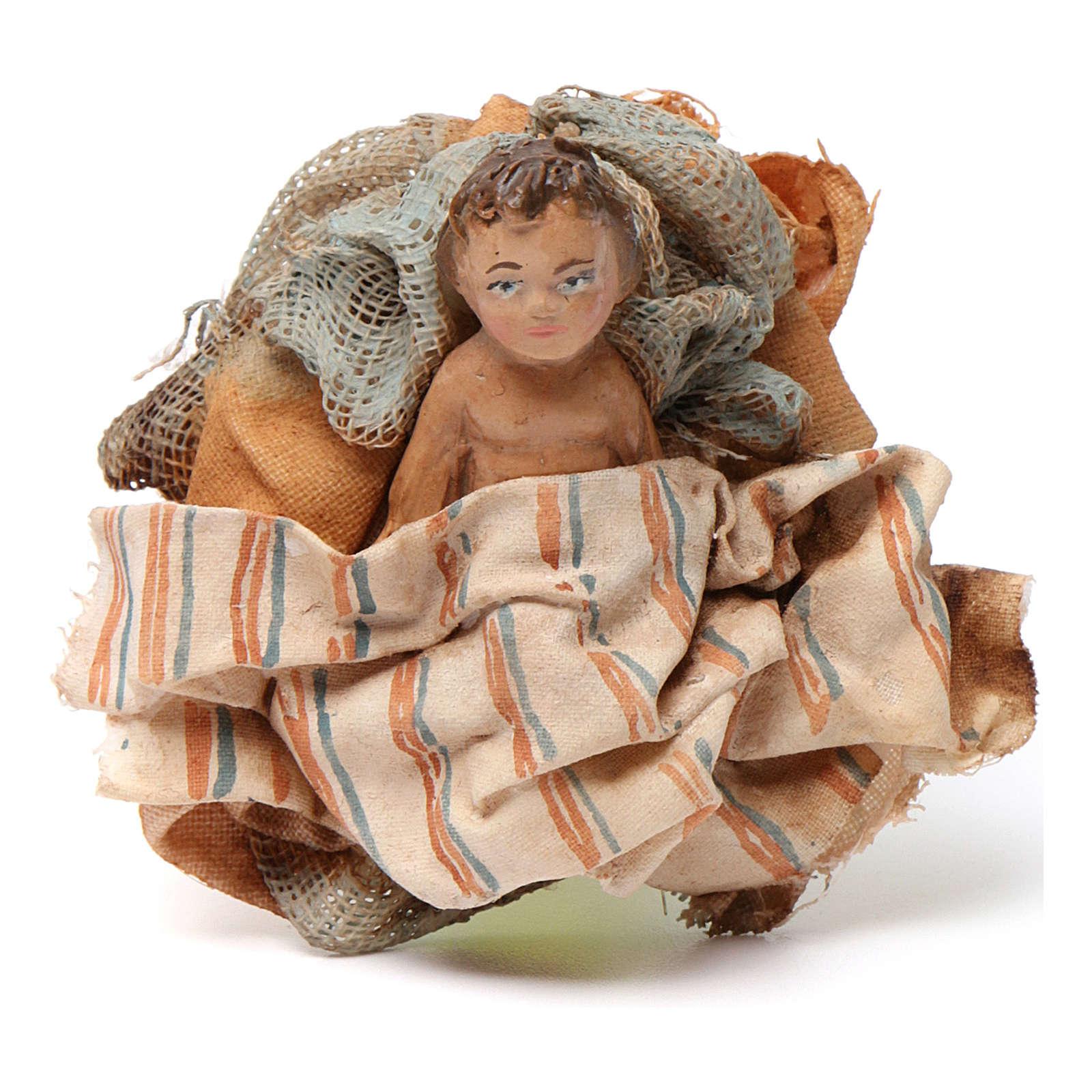 Natività 13 cm terracotta Presepe Tripi 4