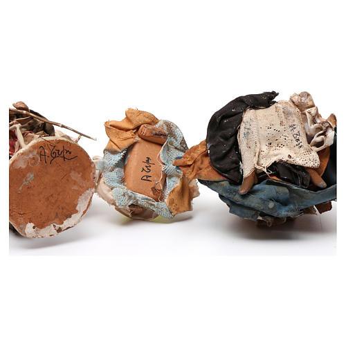 Natività 13 cm terracotta Presepe Tripi 6