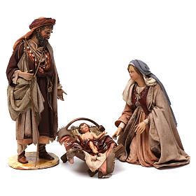 Nativité 3 santons Angela Tripi 18 cm s1