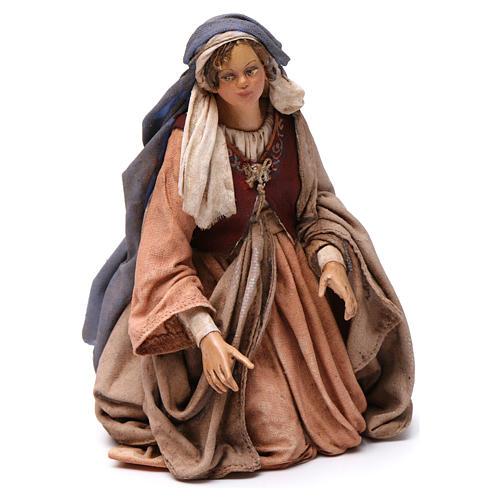 Nativité 3 santons Angela Tripi 18 cm 2