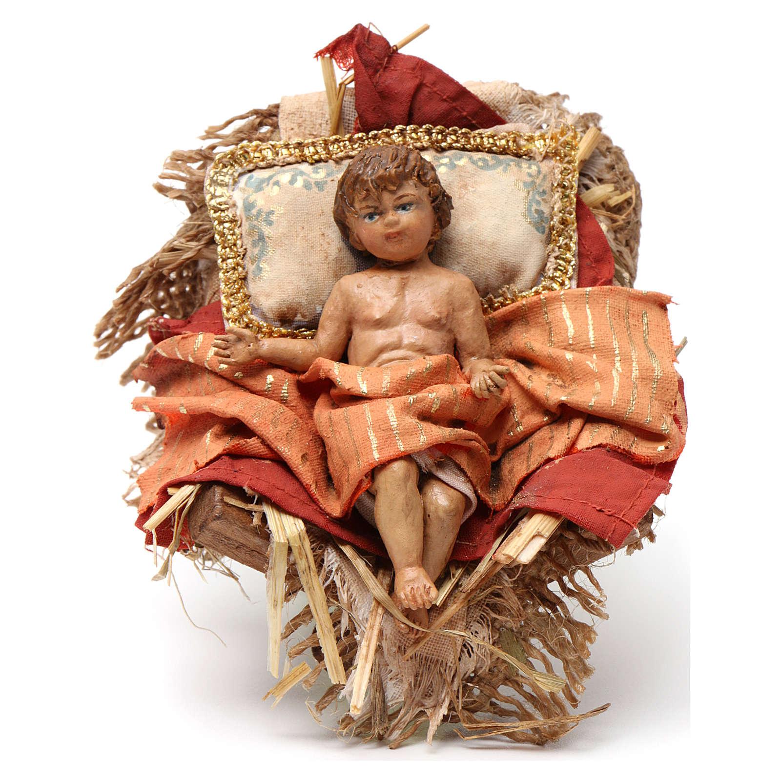 Bambinello culla 18 cm Angela Tripi 4