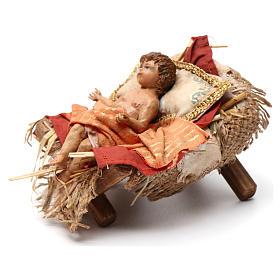Bambinello culla 18 cm Angela Tripi s3