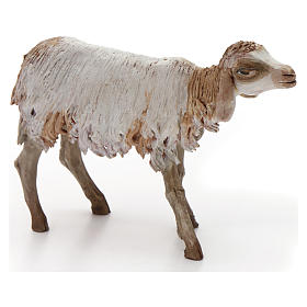 Mouton terre cuite pour crèche 18 cm Angela Tripi s2