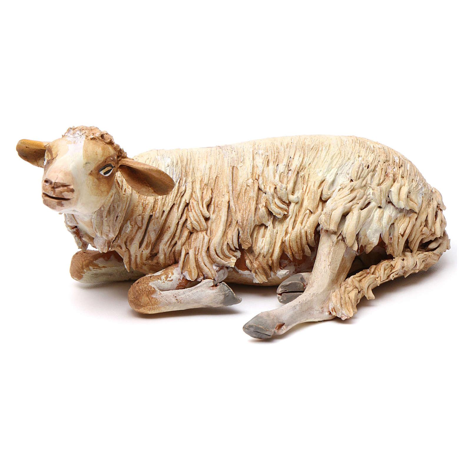 Pecorella Presepe Tripi misura 18 cm 4