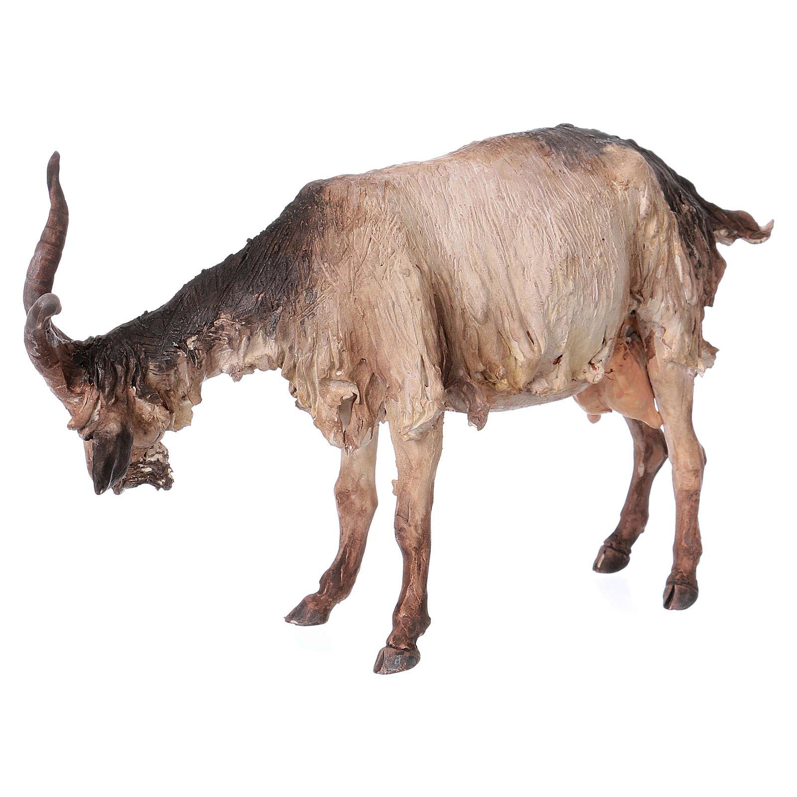 Cabra de pie 30 cm de altura media belén Angela Tripi 4