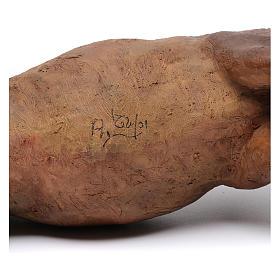 Natività 30 cm con bue in piedi Angela Tripi s12