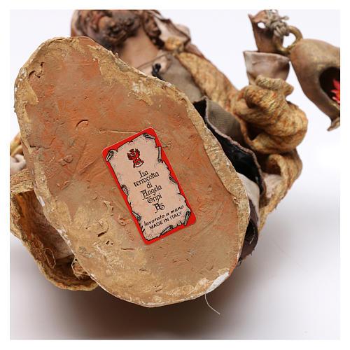Natività 3 pezzi S. Giuseppe con lanterna 30 cm Tripi 12