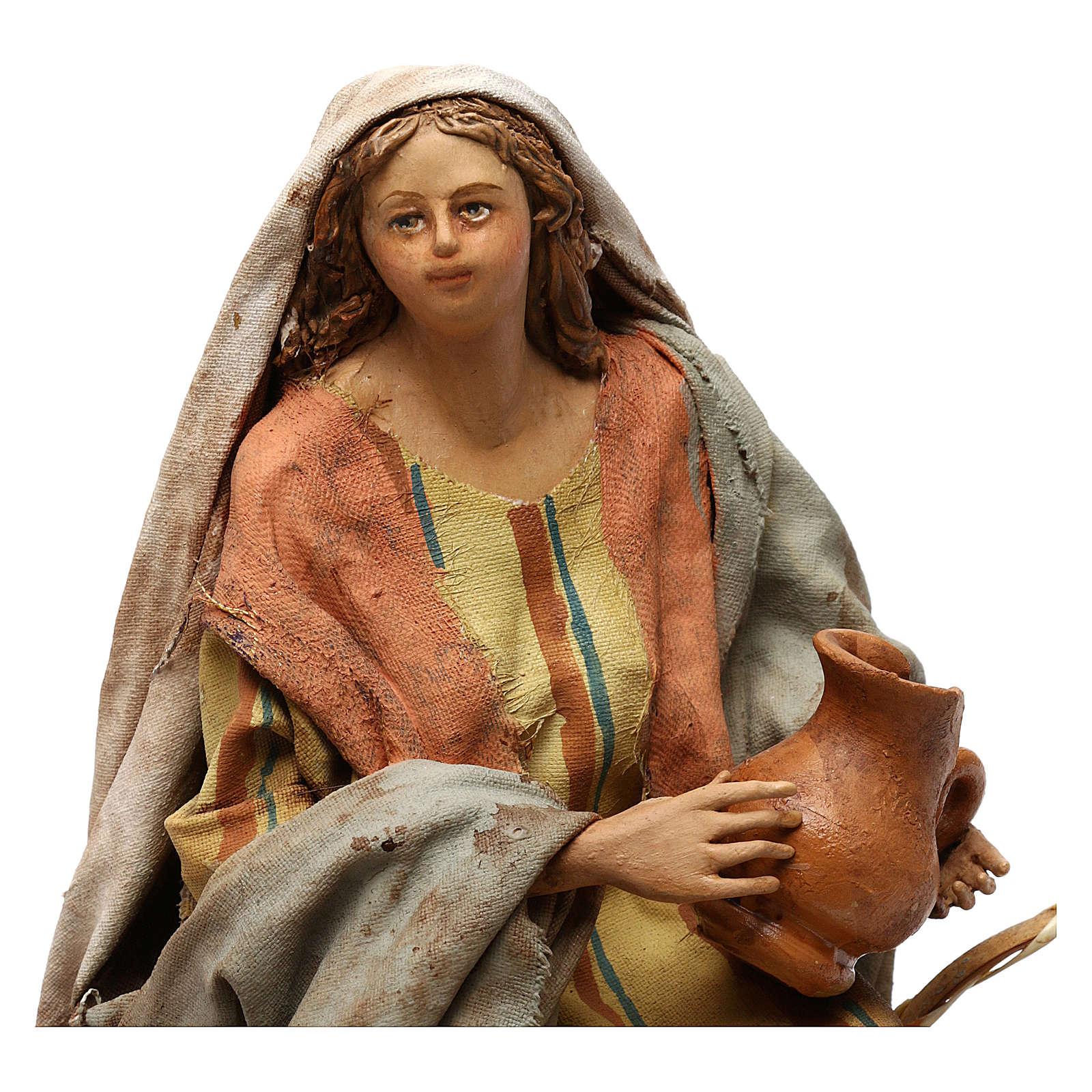 Vendeuse de vases 18 cm Angela Tripi 4