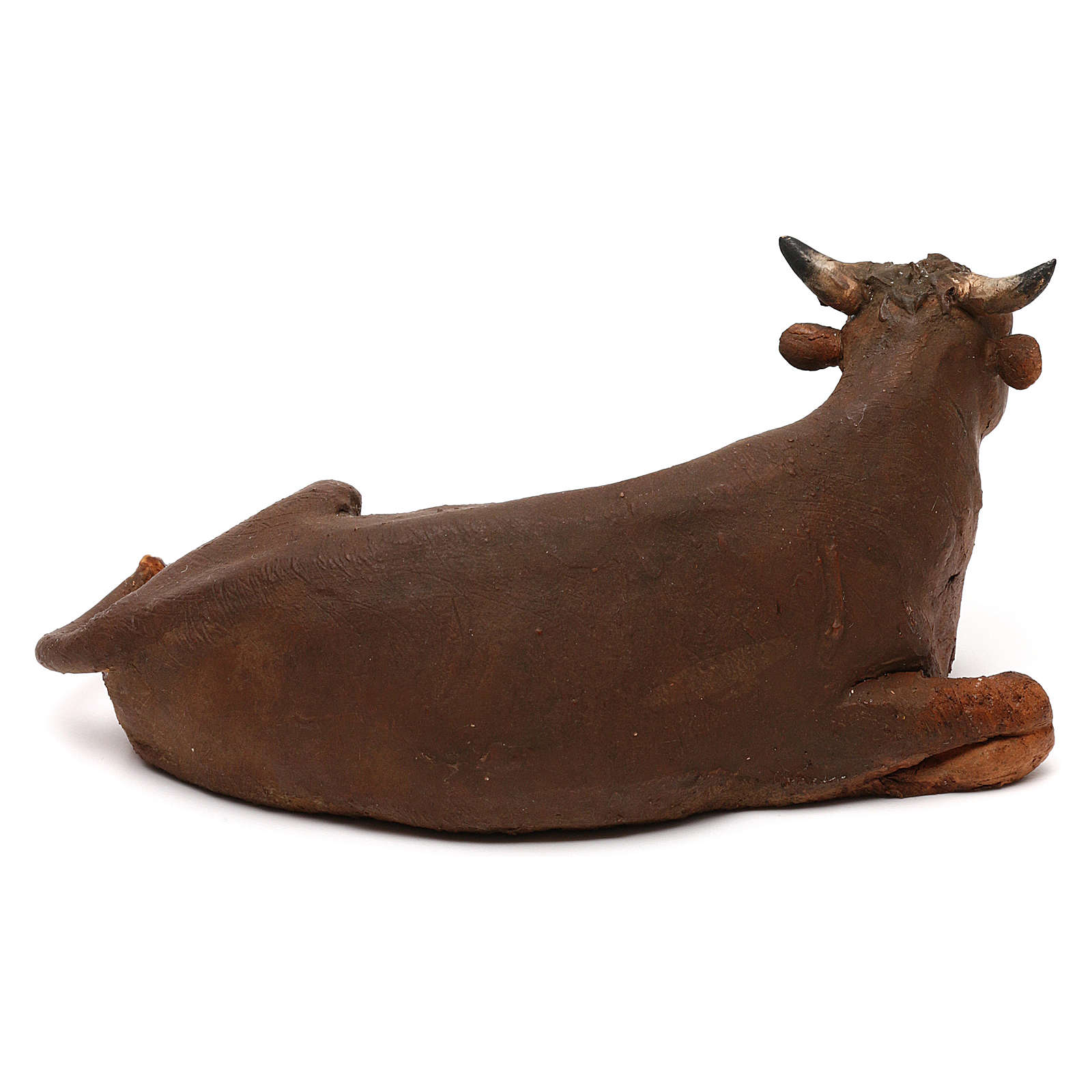 Sitting ox, 13 cm Tripi nativity 4
