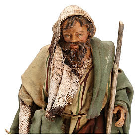 Fuga in Egitto 13 cm presepe Angela Tripi  s3