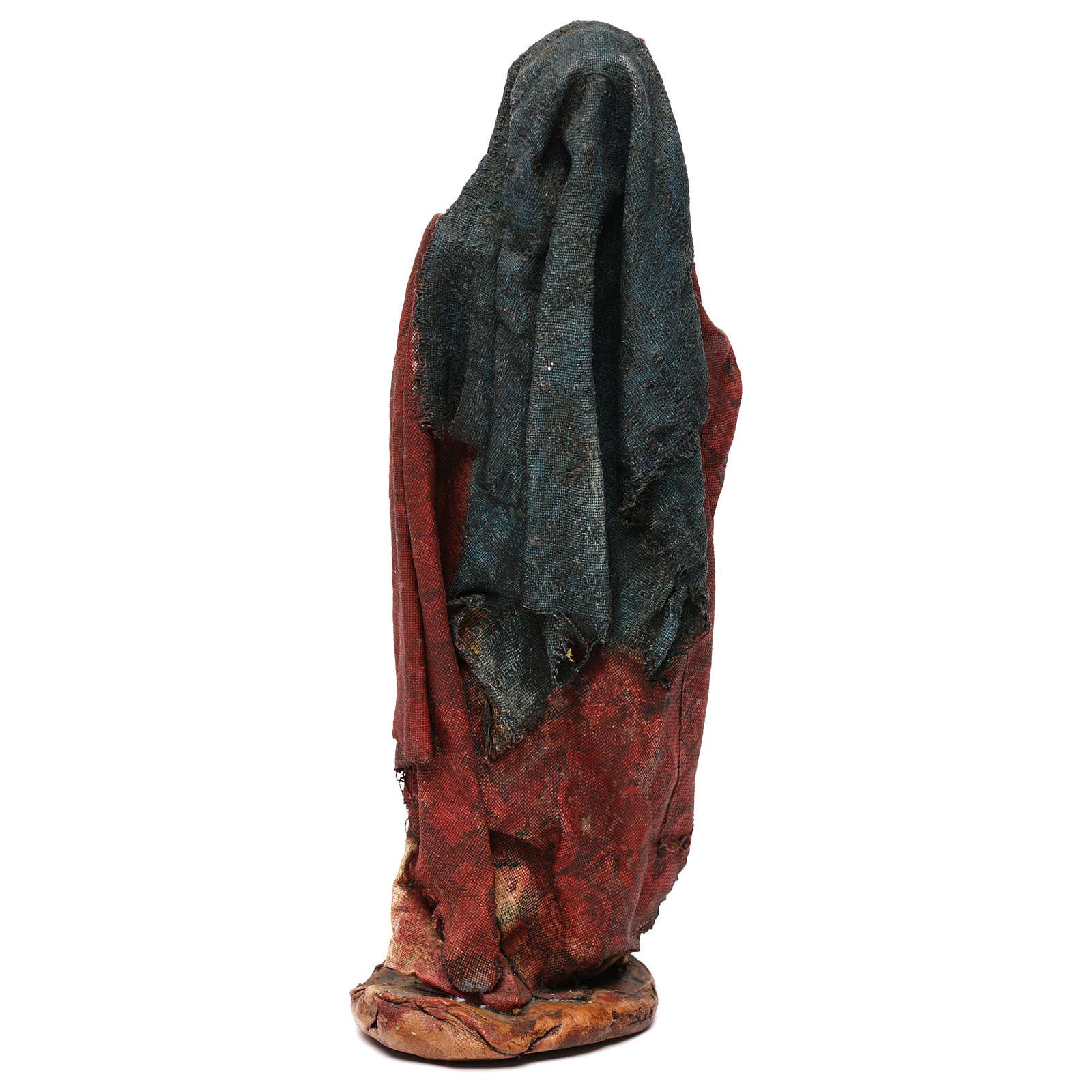 Pastor con pajizo 18 cm belén Angela Tripi 4
