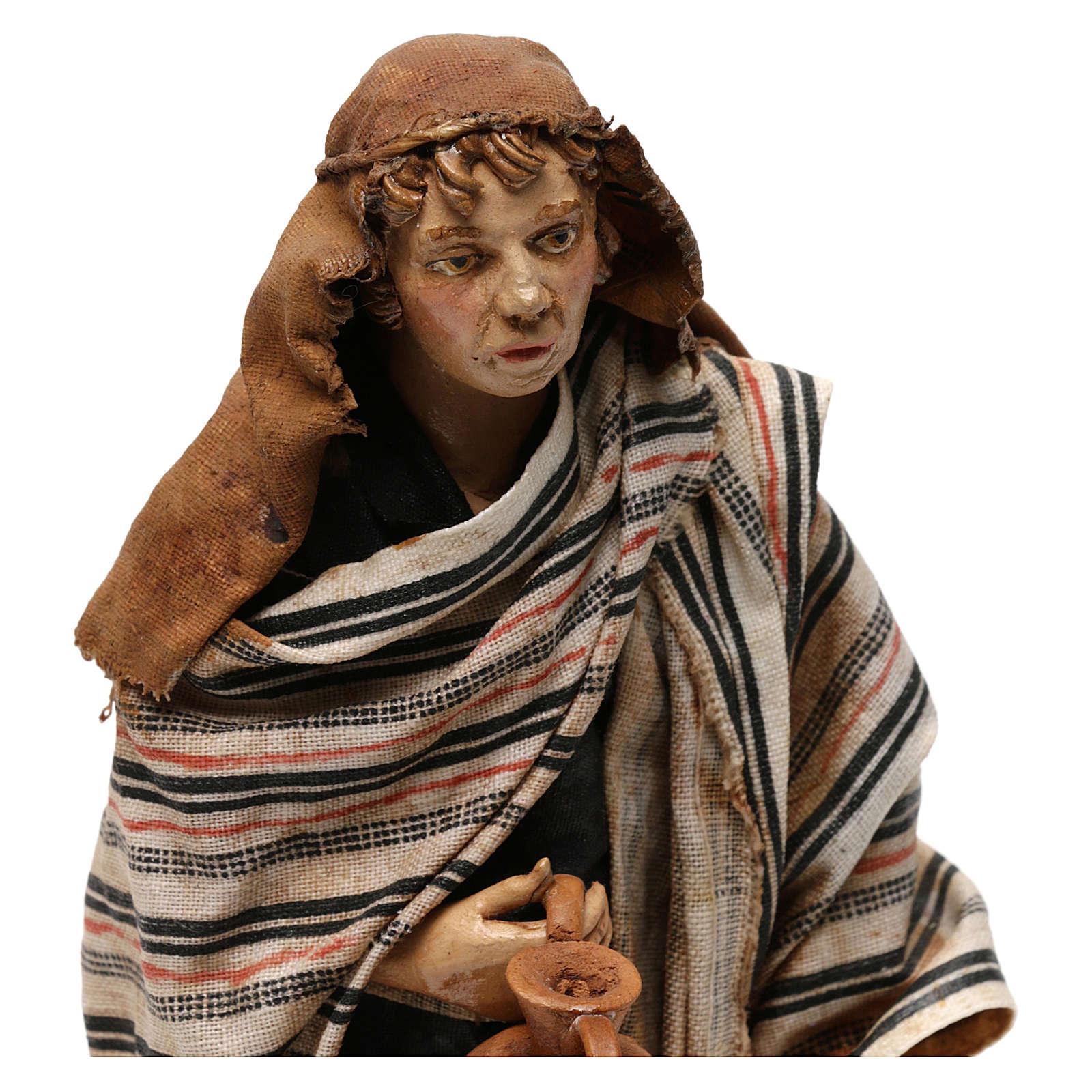 Berger avec cruche 18 cm Angela Tripi 4