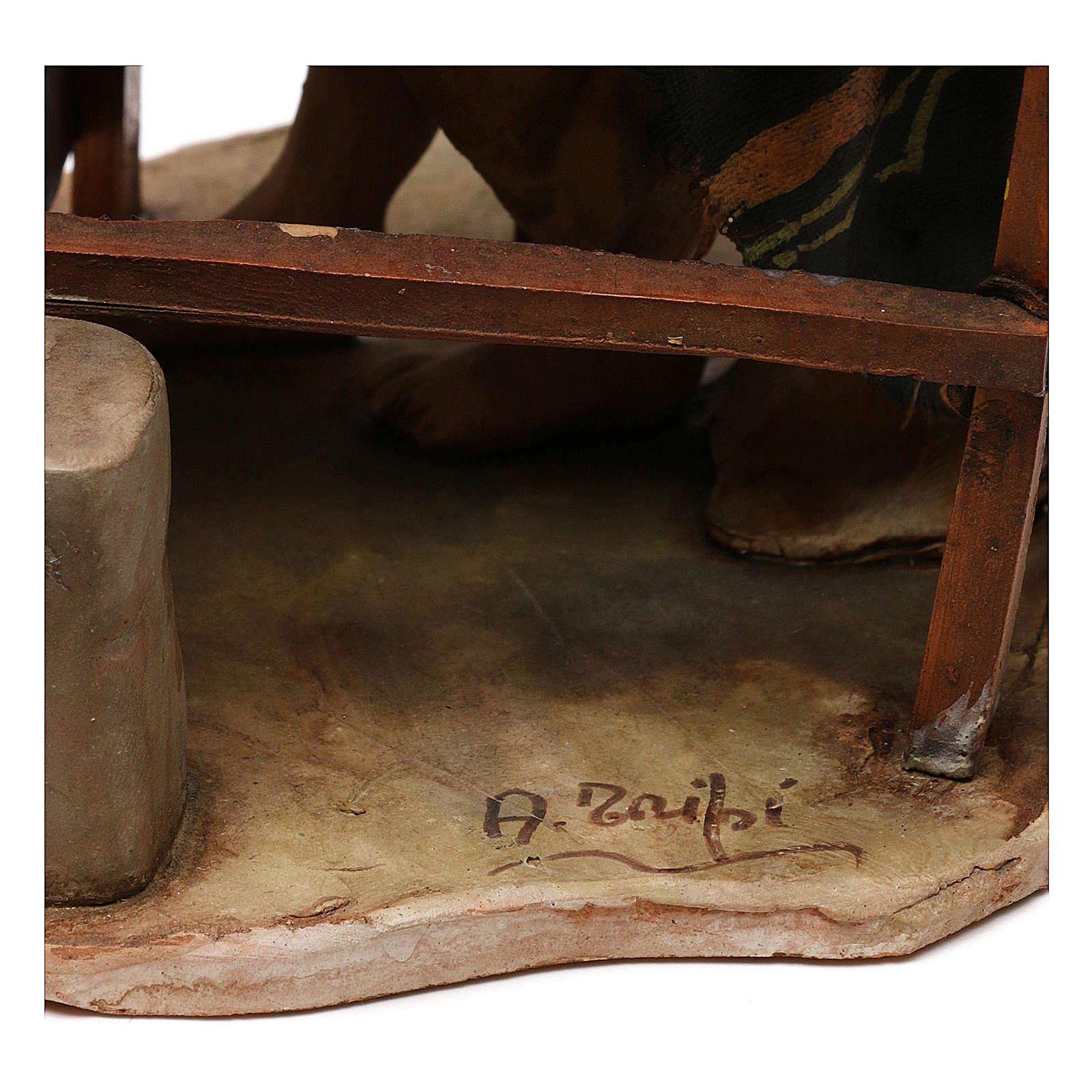 Pastore con tornio 18 cm A. Tripi 4