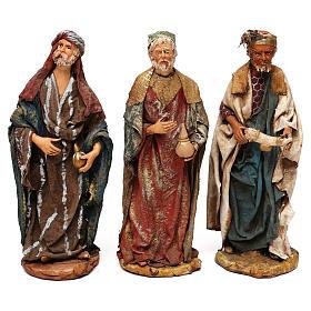 Tre Re Magi presepe 25 cm Angela Tripi s1