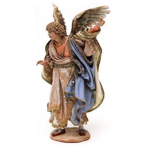 Angel messenger for 18 cm Nativity scene, Angela Tripi 3