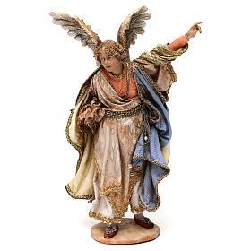 Ange annonce aux bergers crèche Angela Tripi 18 cm s1