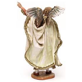 Ange annonce aux bergers crèche Angela Tripi 18 cm s5