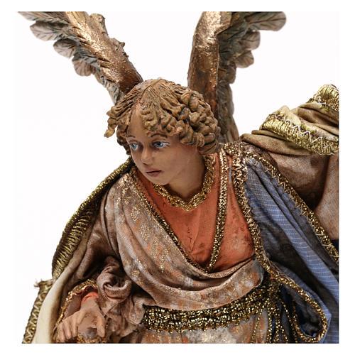 Ange annonce aux bergers crèche Angela Tripi 18 cm 2