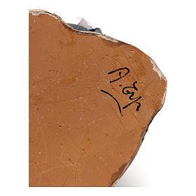 Pastore che munge terracotta 13 cm Angela Tripi s5