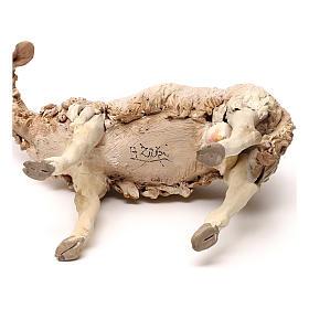 Pecorella in piedi statua presepe 30 cm Tripi  s5