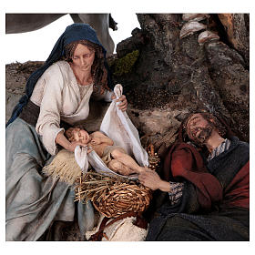 Flight to Egypt: Joseph rests, Angela Tripi 25 cm s2