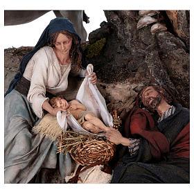 Reposo de José en la Fuga de Egipto 25 cm Angela Tripi s2