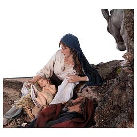 Reposo de José en la Fuga de Egipto 25 cm Angela Tripi s8