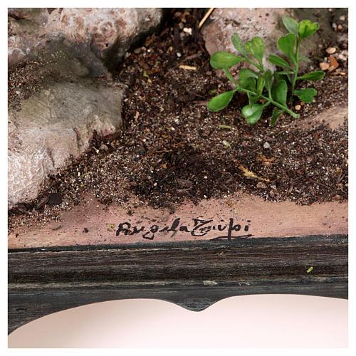 Reposo de José en la Fuga de Egipto 25 cm Angela Tripi 11