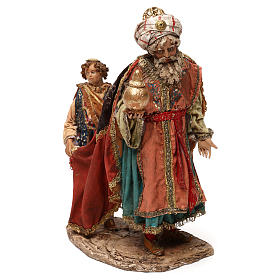 King with page for 18 cm Nativity scene, Angela Tripi s3