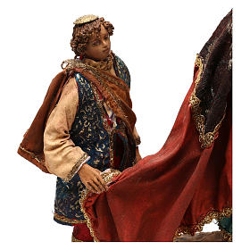 King with page for 18 cm Nativity scene, Angela Tripi s4