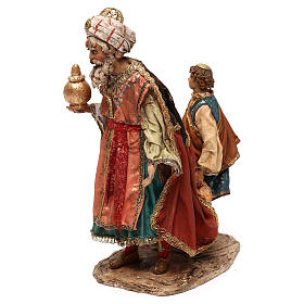 King with page for 18 cm Nativity scene, Angela Tripi s5